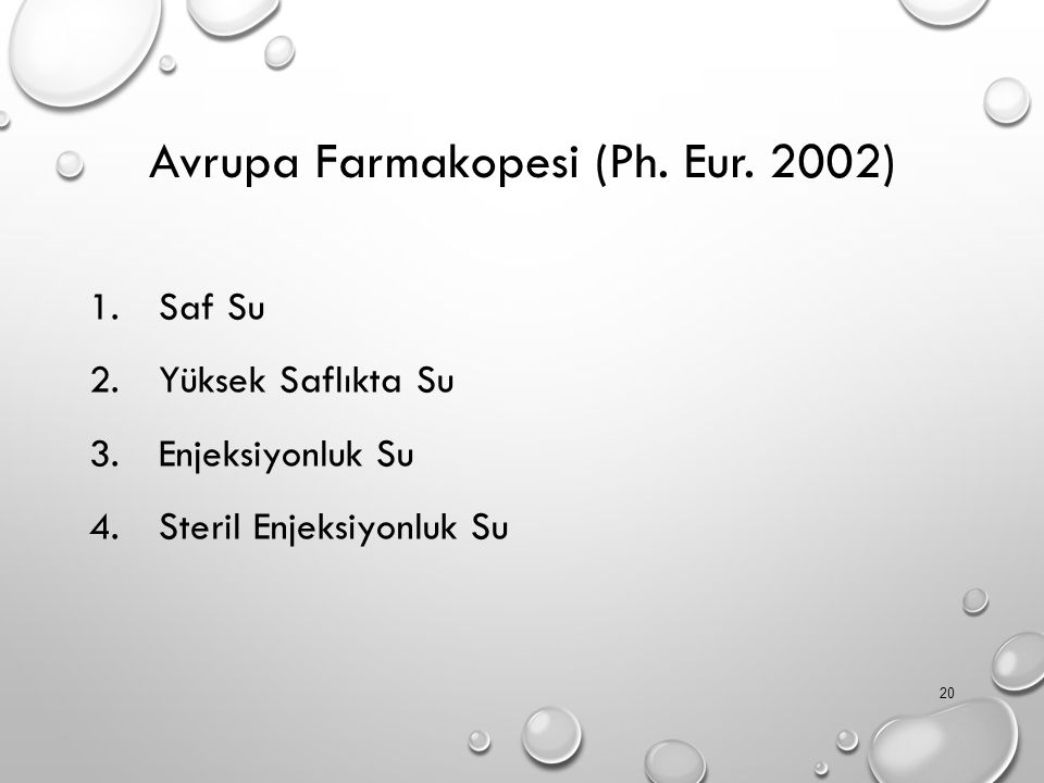 Avrupa Farmakopesi (Ph. Eur. 2002)