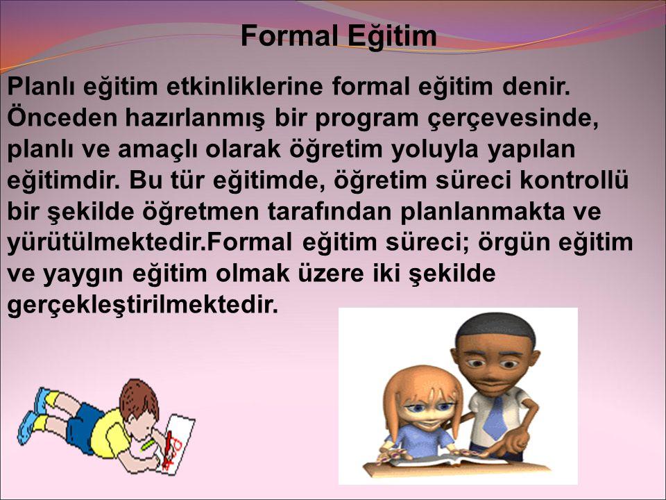 Formal Eğitim