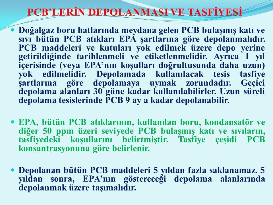 PCB'LERİN DEPOLANMASI VE TASFİYESİ