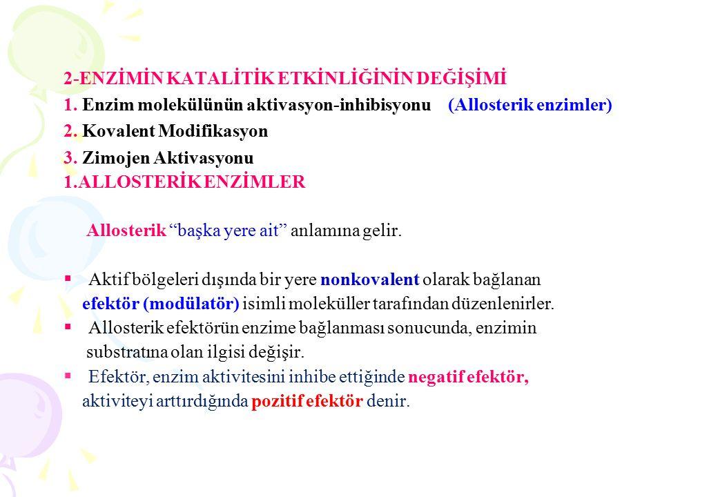 Michaelis-Menten denklemi hiperbolik bir eğrinin denklemidir.