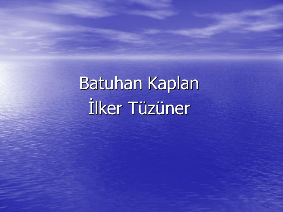 Batuhan Kaplan İlker Tüzüner