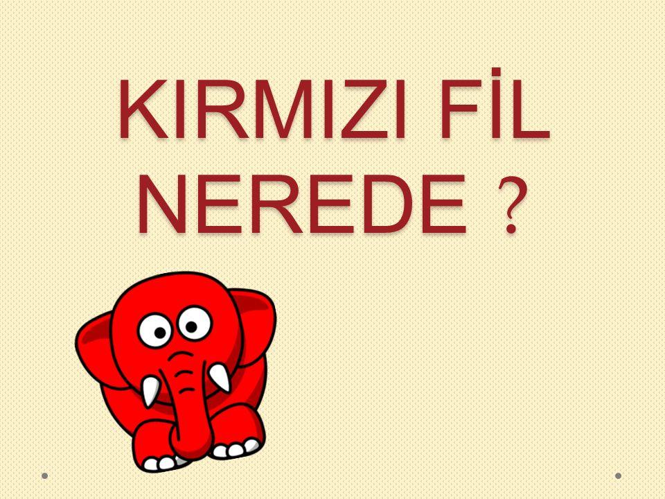 KIRMIZI FİL NEREDE