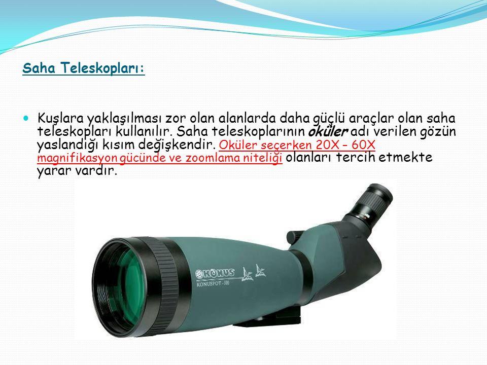 Saha Teleskopları: