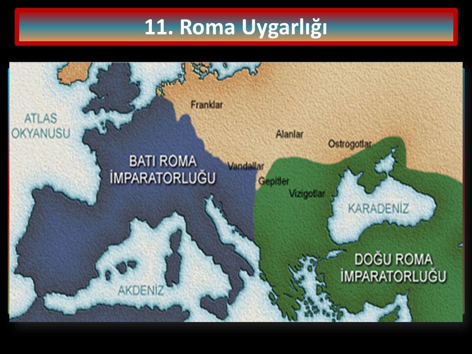 11. Roma Uygarlığı