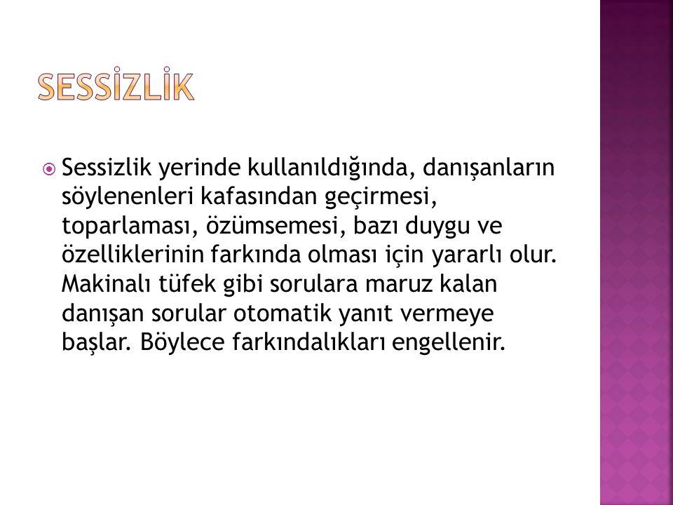 SESSİZLİK