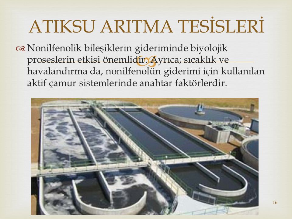 ATIKSU ARITMA TESİSLERİ