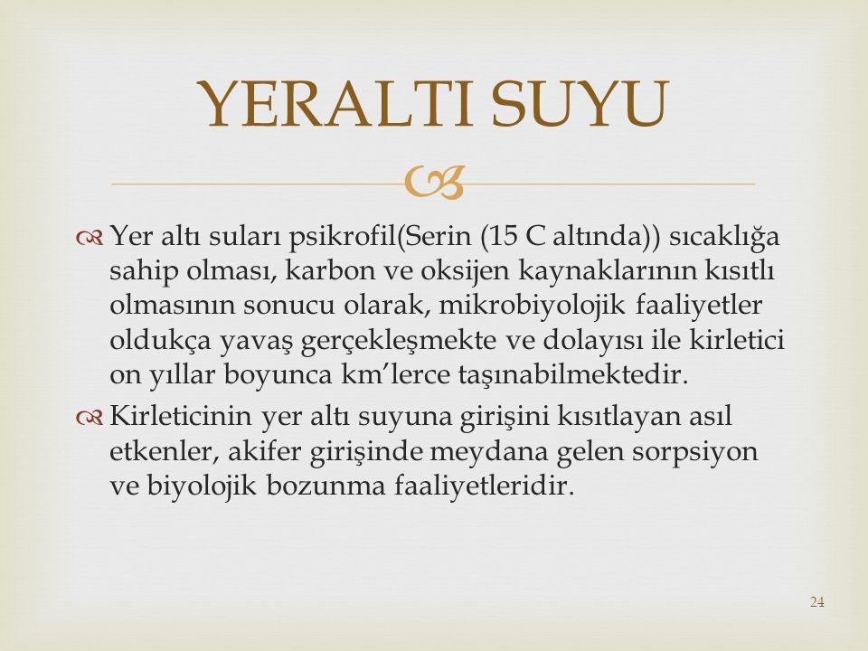 YERALTI SUYU