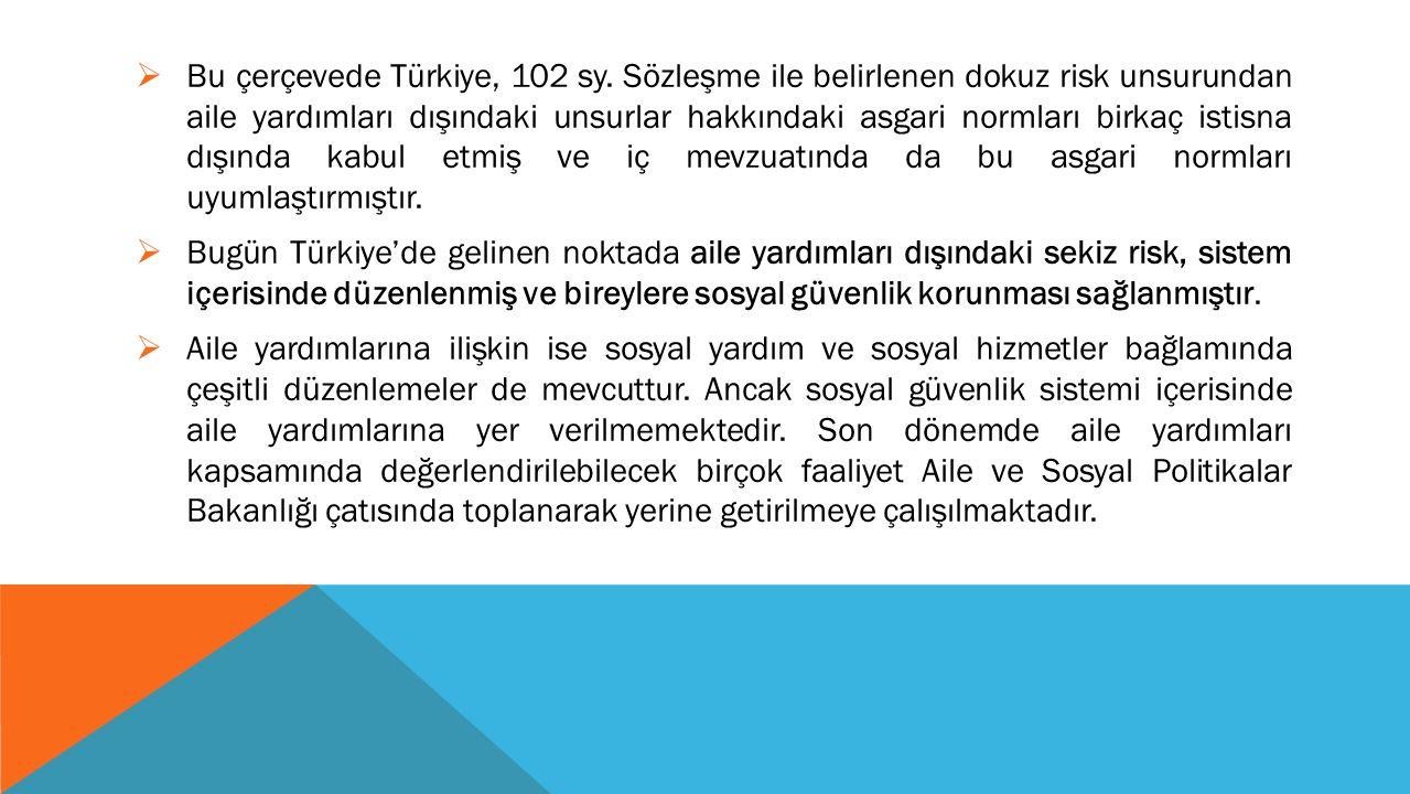 Bu çerçevede Türkiye, 102 sy