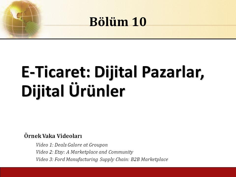 E-Ticaret: Dijital Pazarlar, Dijital Ürünler