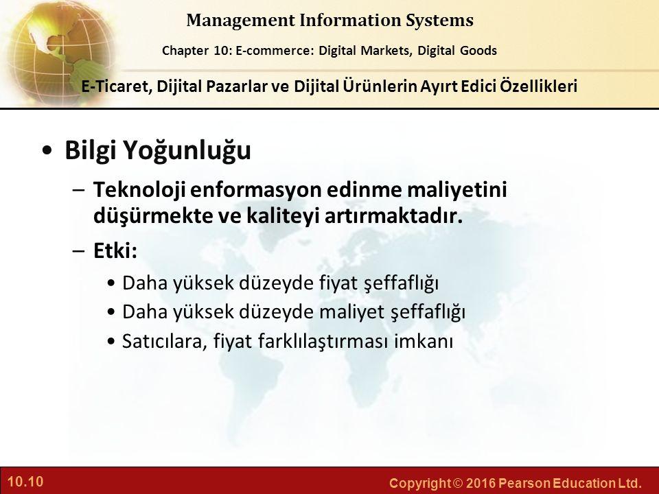 E-Ticaret, Dijital Pazarlar ve Dijital Ürünlerin Ayırt Edici Özellikleri
