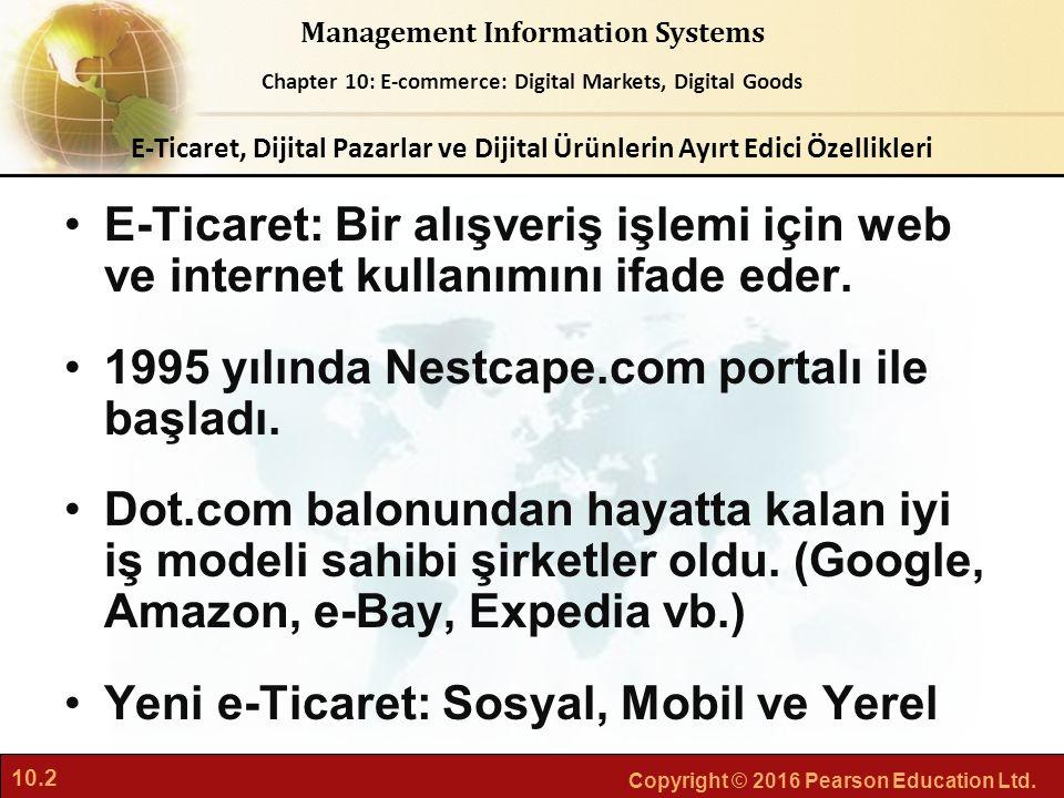 1995 yılında Nestcape.com portalı ile başladı.