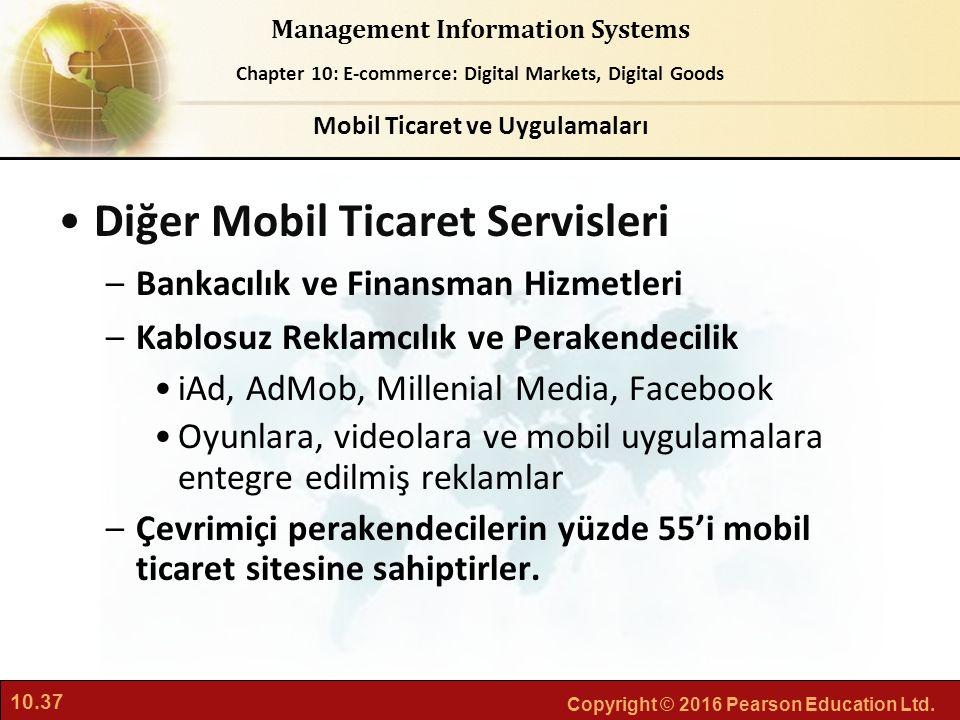 Mobil Ticaret ve Uygulamaları