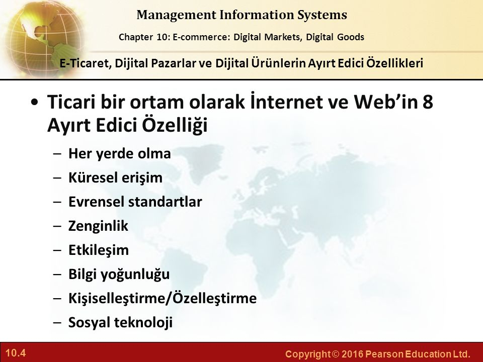 Ticari bir ortam olarak İnternet ve Web'in 8 Ayırt Edici Özelliği