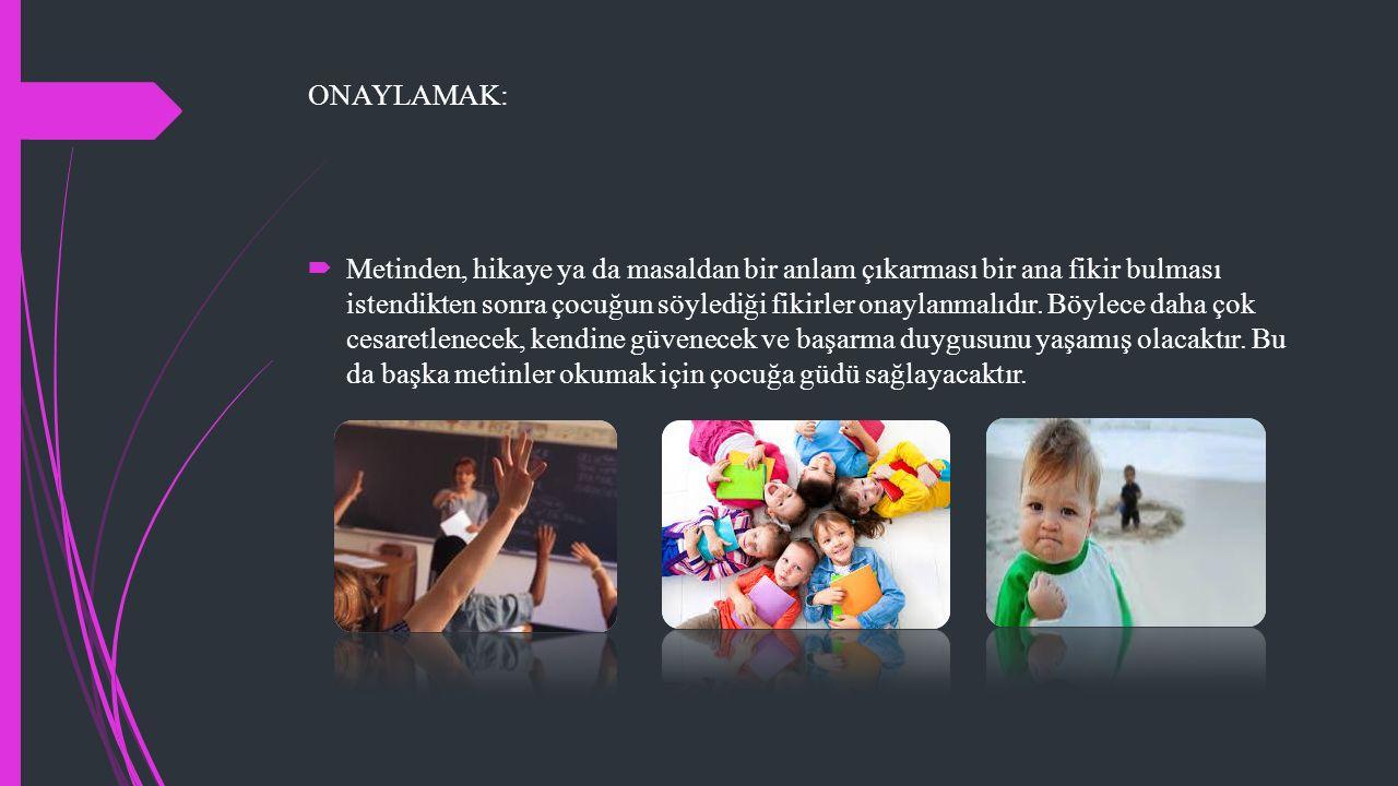 ONAYLAMAK: