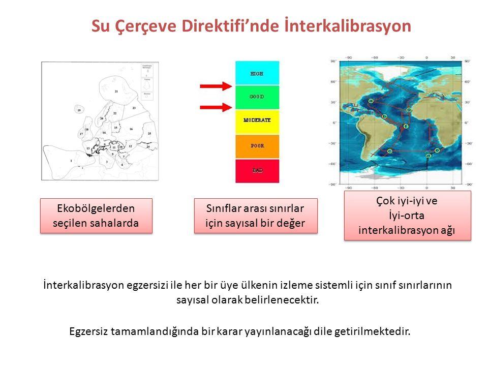 Su Çerçeve Direktifi'nde İnterkalibrasyon