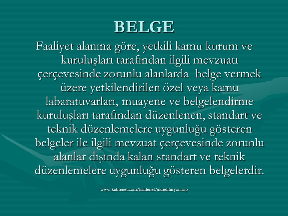 BELGE