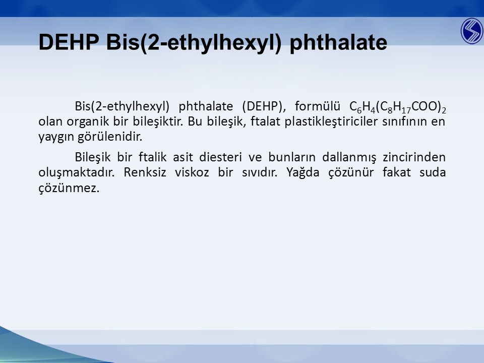 DEHP Bis(2-ethylhexyl) phthalate