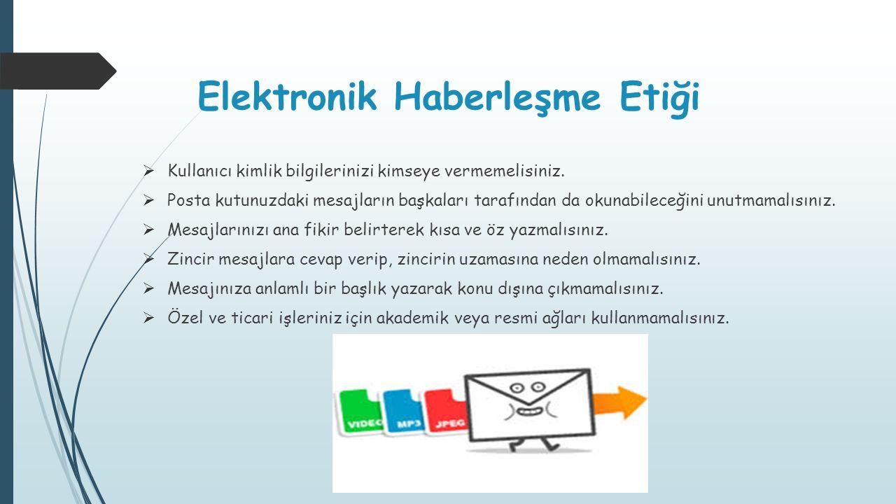 Elektronik Haberleşme Etiği
