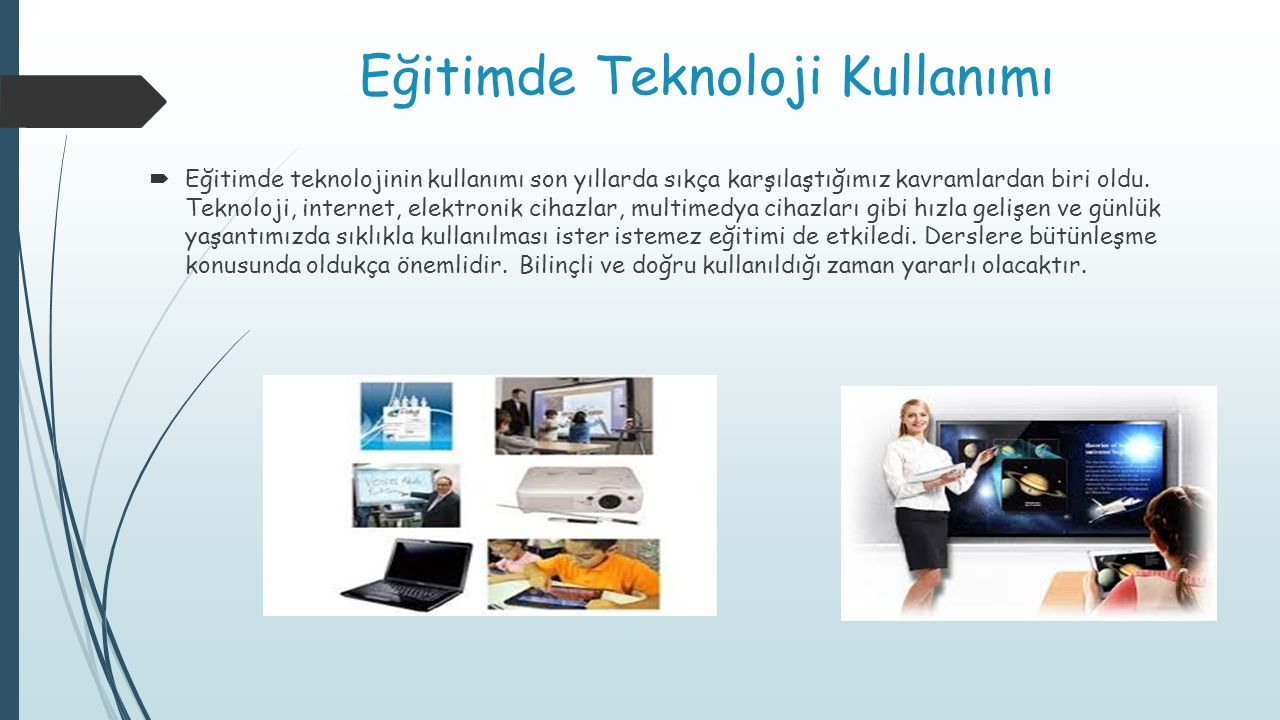 Eğitimde Teknoloji Kullanımı