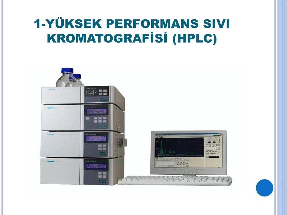 1-YÜKSEK PERFORMANS SIVI KROMATOGRAFİSİ (HPLC)