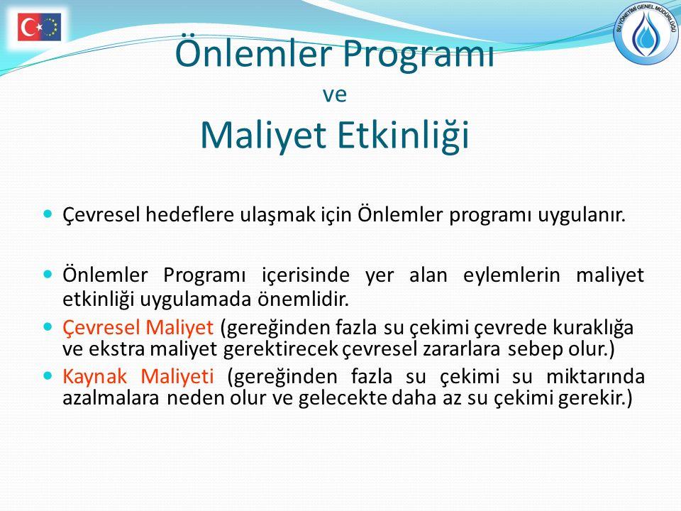 Önlemler Programı ve Maliyet Etkinliği
