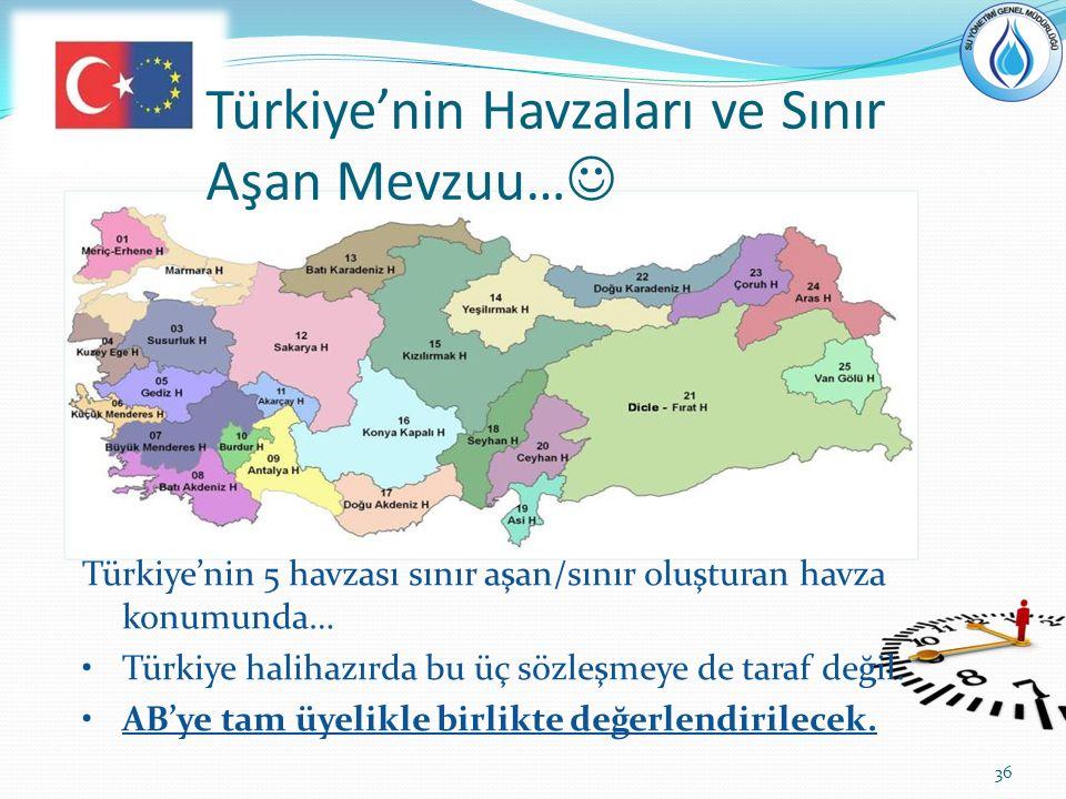 Türkiye'nin Havzaları ve Sınır Aşan Mevzuu…