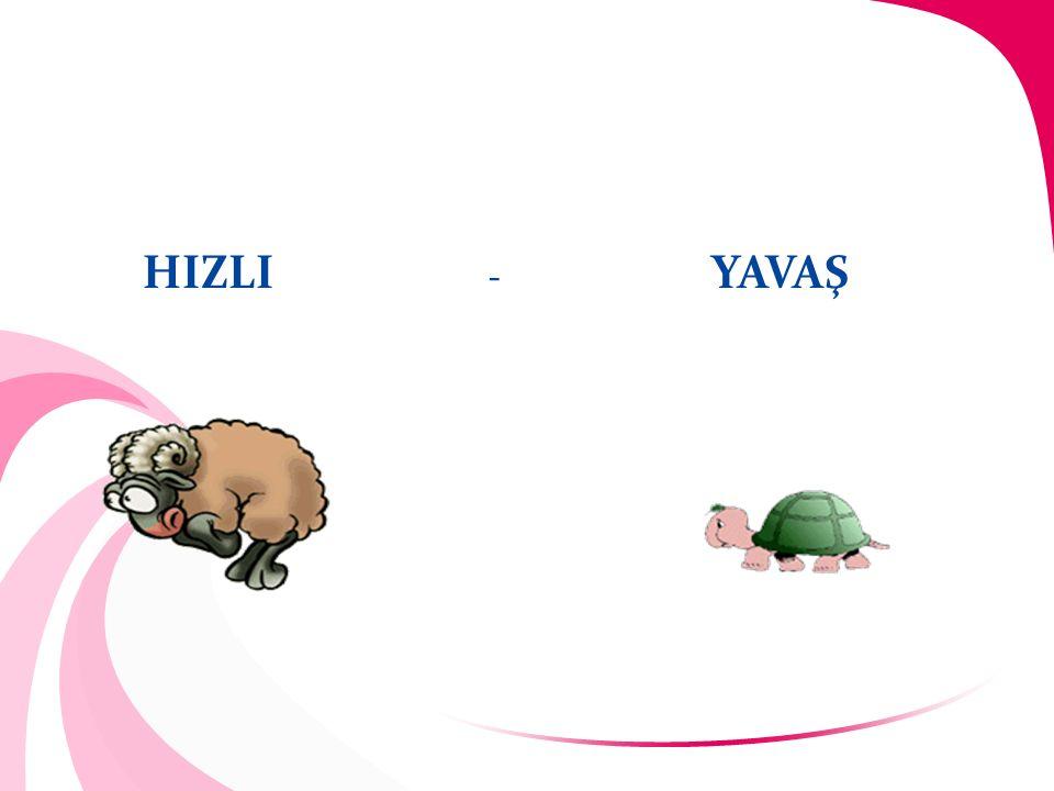 HIZLI - YAVAŞ