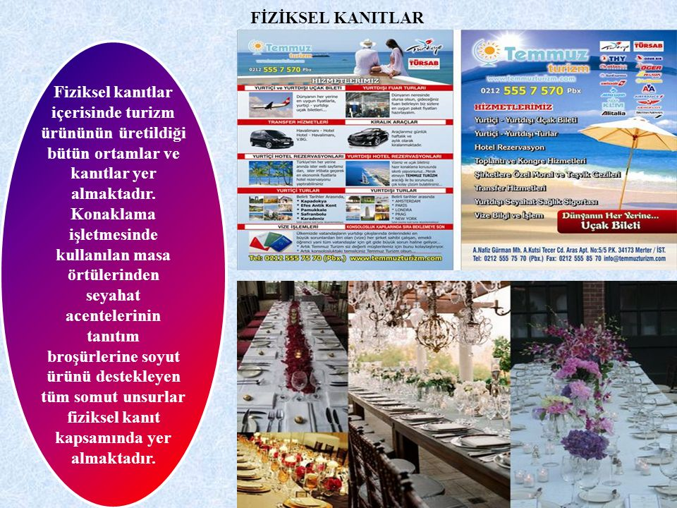 FİZİKSEL KANITLAR