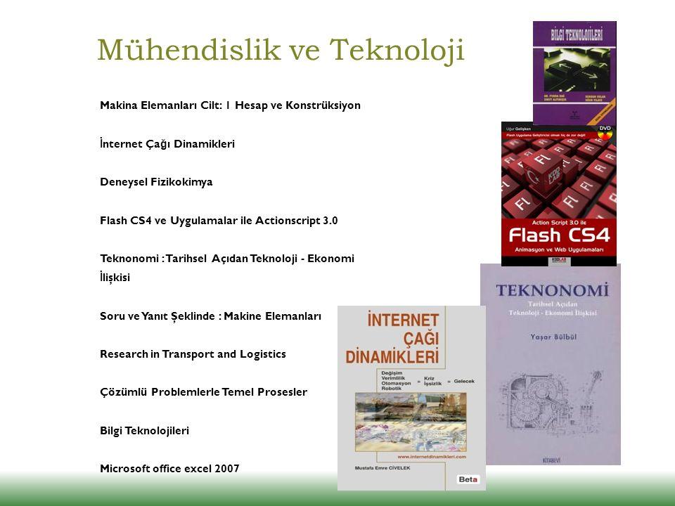 Mühendislik ve Teknoloji