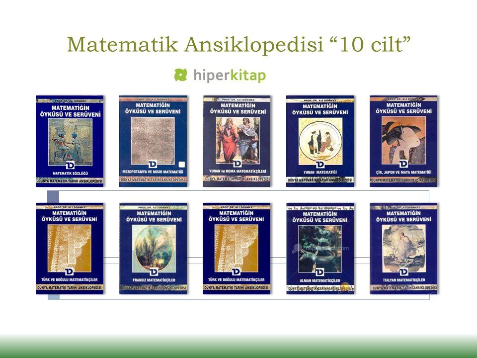 Matematik Ansiklopedisi 10 cilt