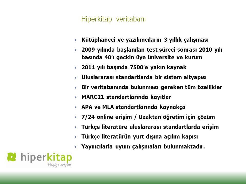 Hiperkitap veritabanı