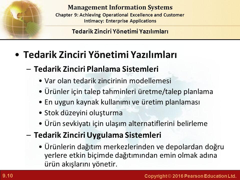 Tedarik Zinciri Yönetimi Yazılımları