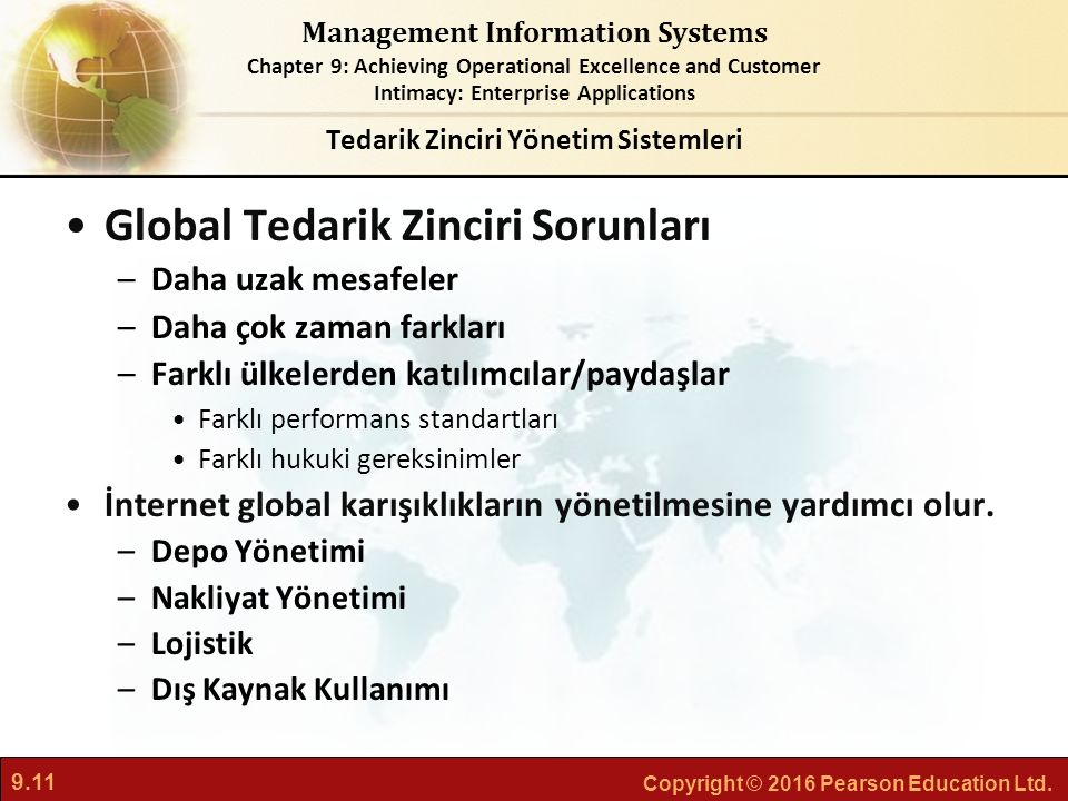 Tedarik Zinciri Yönetim Sistemleri