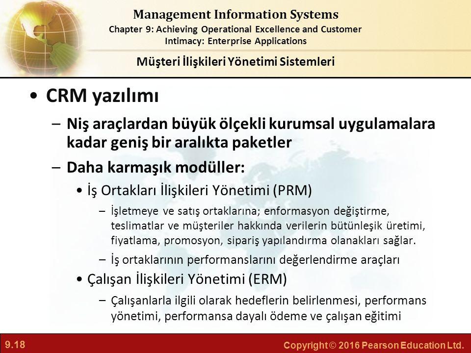 Müşteri İlişkileri Yönetimi Sistemleri