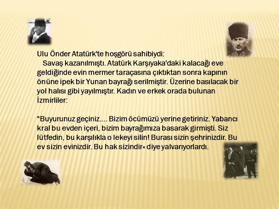Ulu Önder Atatürk te hoşgörü sahibiydi: