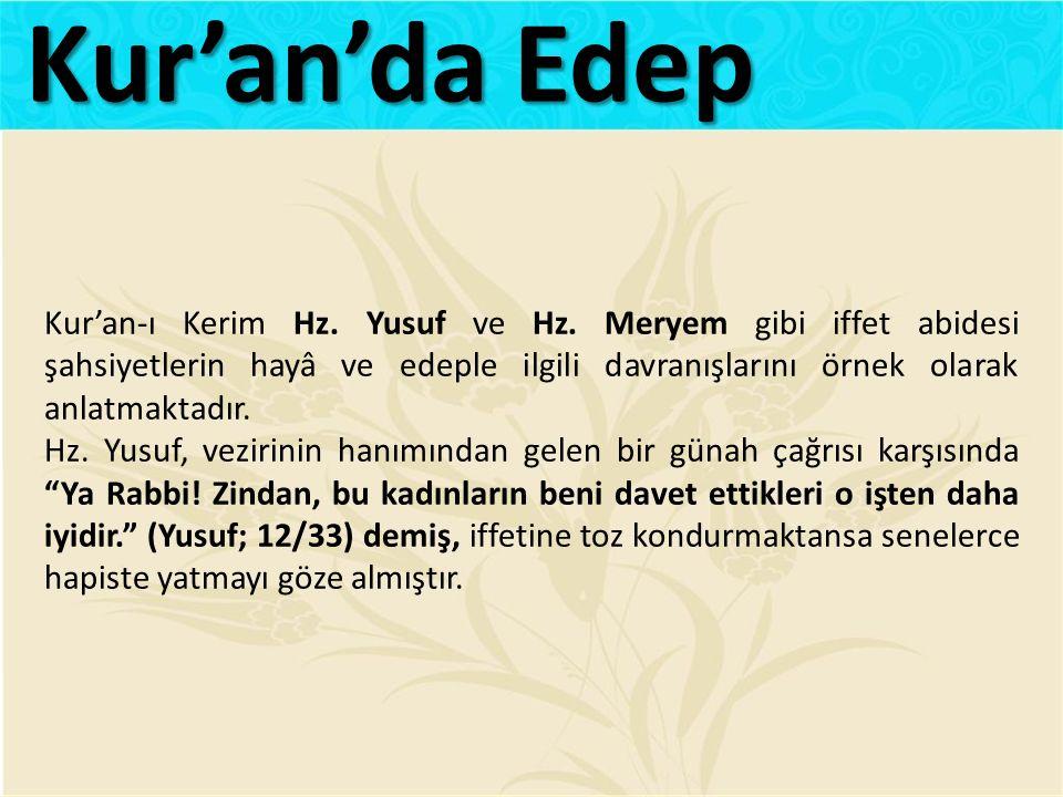 Kur'an'da Edep