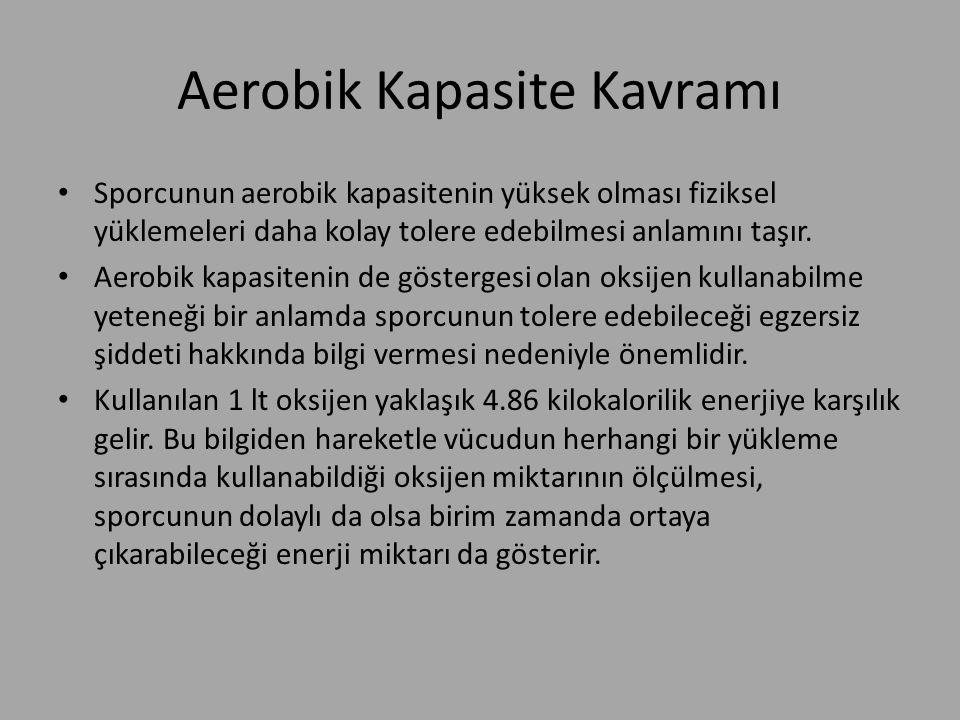 Aerobik Kapasite Kavramı