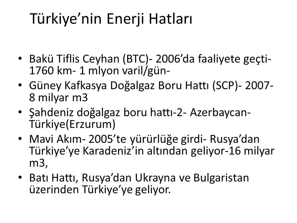Türkiye'nin Enerji Hatları