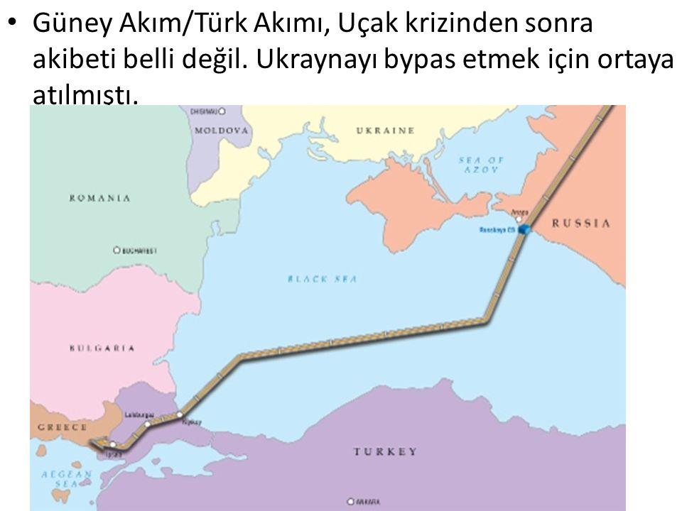Güney Akım/Türk Akımı, Uçak krizinden sonra akibeti belli değil