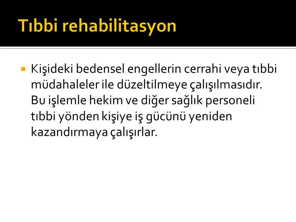Tıbbi rehabilitasyon
