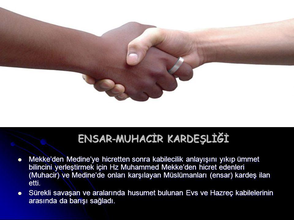 ENSAR-MUHACİR KARDEŞLİĞİ