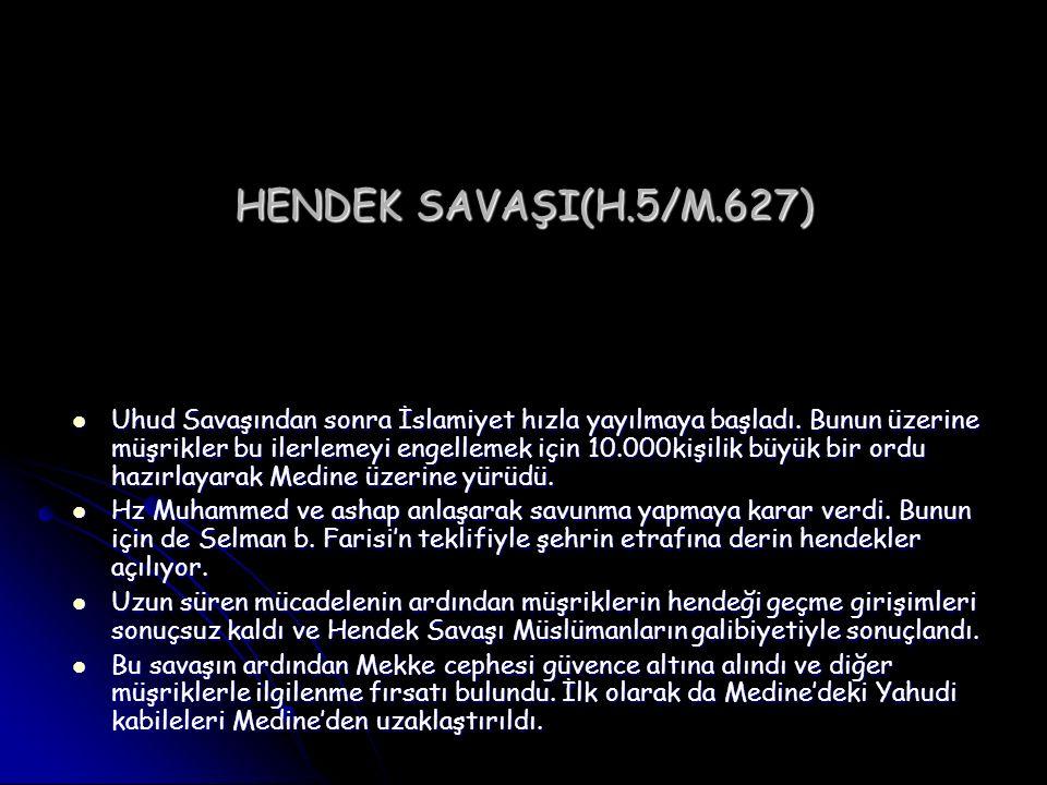 HENDEK SAVAŞI(H.5/M.627)