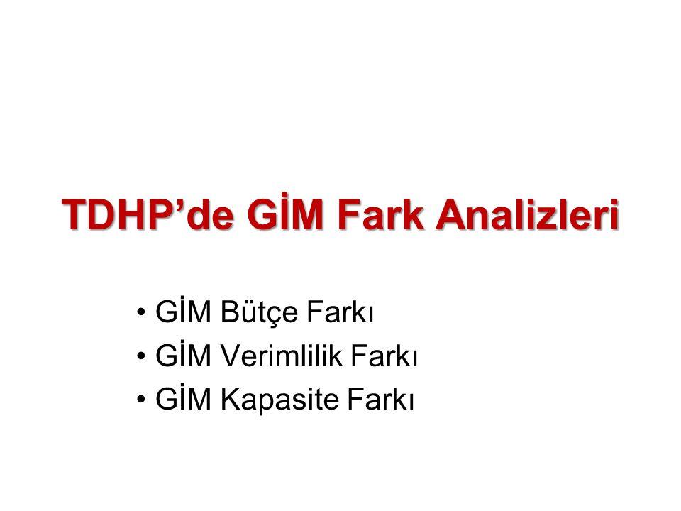 TDHP'de GİM Fark Analizleri