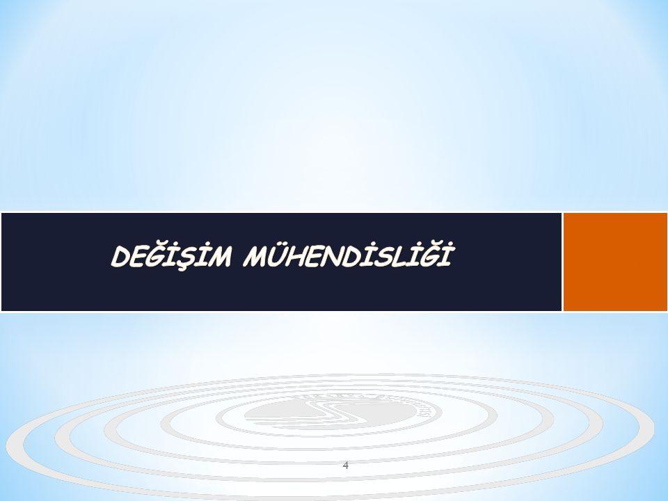 DEĞİŞİM MÜHENDİSLİĞİ B