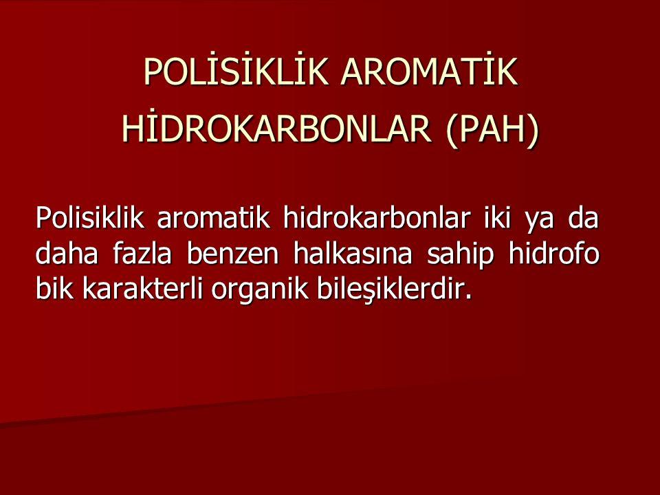 POLİSİKLİK AROMATİK HİDROKARBONLAR (PAH)