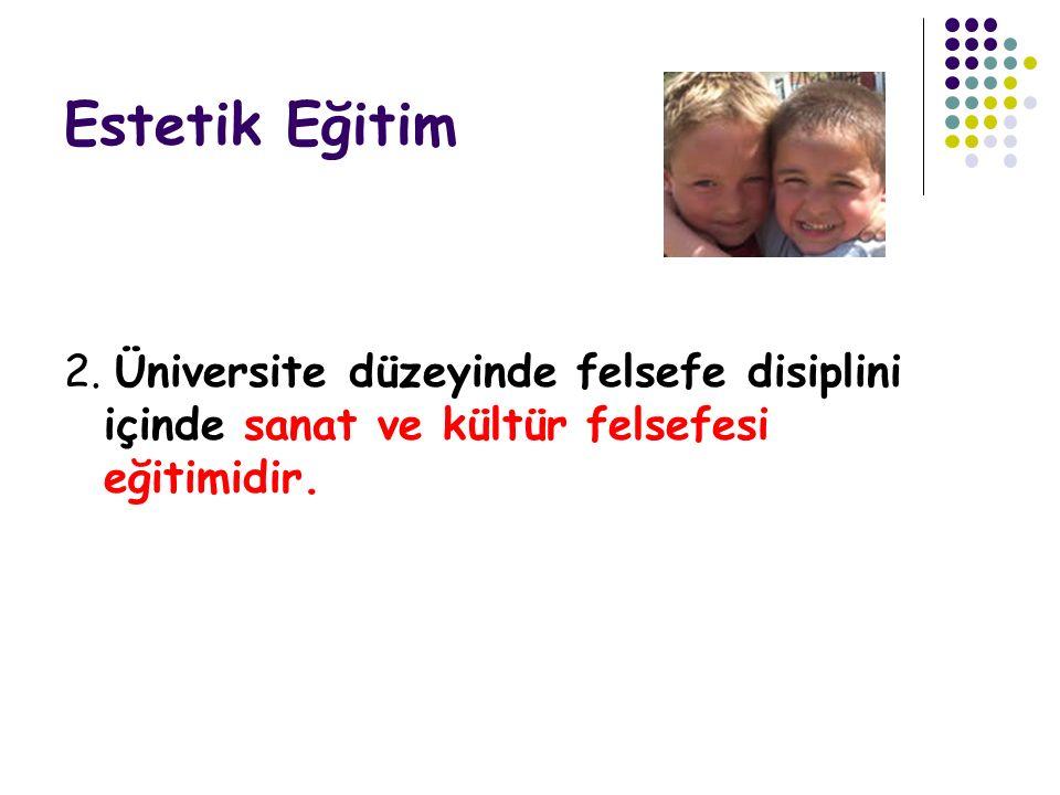 Estetik Eğitim 2.