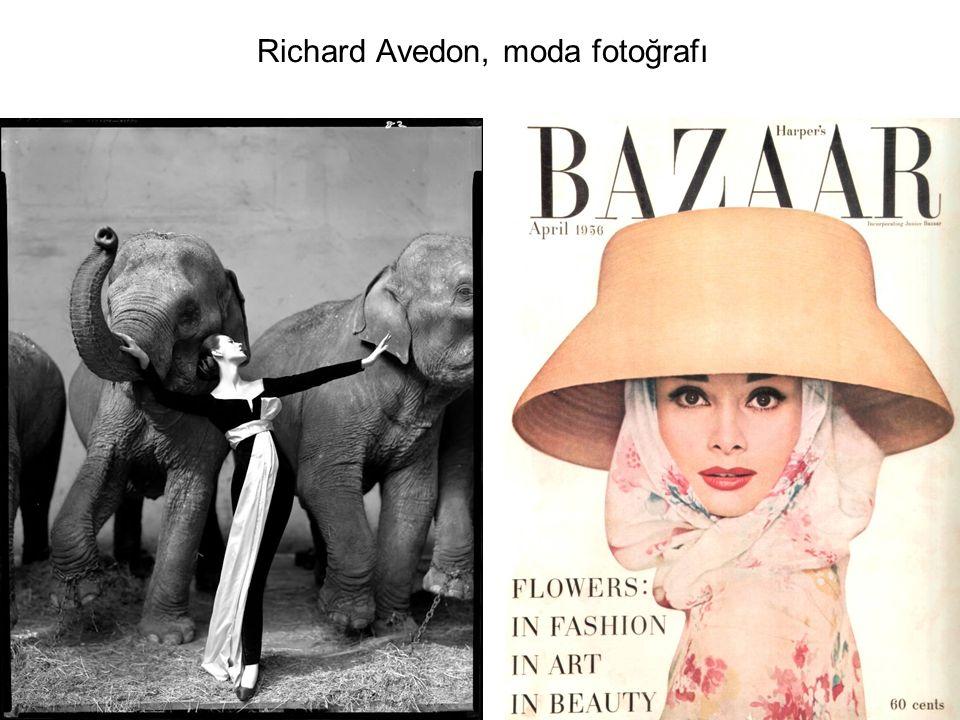 Richard Avedon, moda fotoğrafı