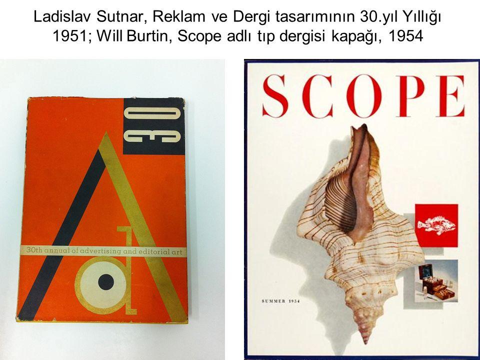 Ladislav Sutnar, Reklam ve Dergi tasarımının 30