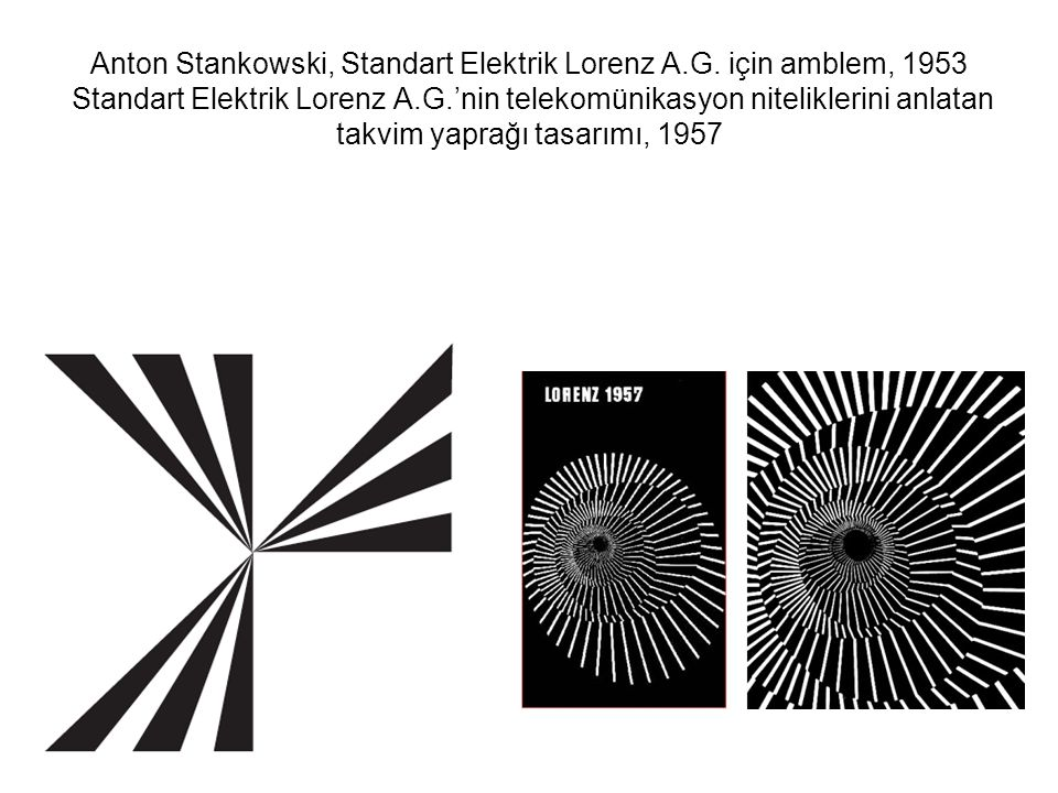 Anton Stankowski, Standart Elektrik Lorenz A. G