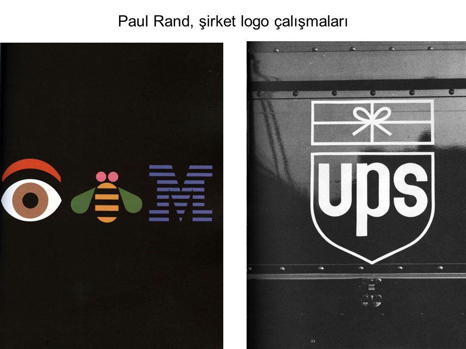 Paul Rand, şirket logo çalışmaları